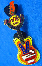 New listing New Orleans Peace Guitar Global Series V Hand Sign 2007 Hard Rock Cafe Pin Le