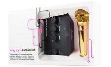 Lucky Voice Gold Karaoke Machine