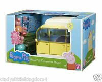 New Peppa Pig Large Campervan Playset With 4 Figures & Accessories 3+