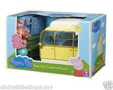 Peppa Pig Large Campervan Playset With 4 Figures & Accessories 3+