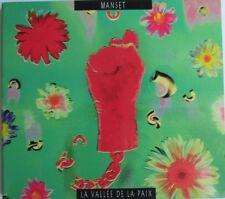 """GERARD MANSET - CD """"LA VALLÉE DE LA PAIX""""  DIGIPACK"""