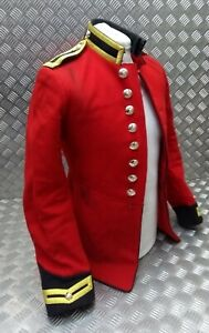 Genuine British Army Issue Life Guards Trooper Red H Cav Tunic Faulty EBYT411