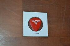 Van Halen Michael Anthony Signature Red Guitar Pick - 1986 5150 Tour #38
