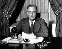 President Franklin D. Roosevelt 'Fireside Chat' 8x10 Silver Halide Photo Print