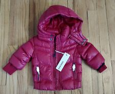 RED DIESEL BABY 3 MONTH INFANT REAL DOWN JACKET COAT KIDS SHIRT HOODIE WINTER