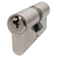X10 Yale Cylinder Lock Satin Nickel