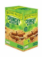 Nature Valley Crunchy Oats & Honey Cereal Bars 40 2-Bar Packs, Made in Spain