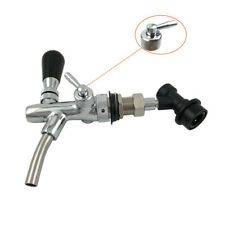Quick Fitting Adjustable Beer Faucet Kit Tap Shank With Ball Lock Connector