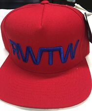RWTW Red SnapBack Hat Hip hop