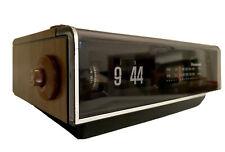 New ListingVintage 1973 Panasonic Rc-6040 Flip Clock Alarm Am/Fm Wood Grain