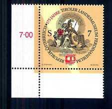 AUSTRIA - 1998 -175° anniversario del Mueo regionale tirolese. E4472