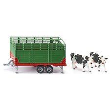 1:32 Cattle Trailer W/2 Cows - Siku Stock 132 Scale Farmer 2875