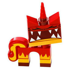 NEW LEGO MOVIE SUPER ANGRY KITTY MINIFIG minifigure 70817 red unikitty evil red