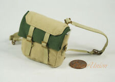 DA224 1:6 Figure WW2 British P-37 Pack Desert Backpack Knapsack Bedding Blanket