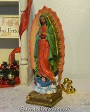 "Lovely 12"" OUR LADY OF GUADALUPE STATUE FIGURINE Incredibly Detailed ~ NEW!"