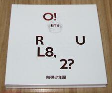 BTS O!RUL8,2? 1ST MINI ALBUM K-POP CD + 2 PHOTO CARD & POSTER NEW