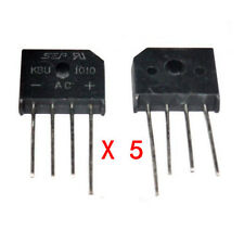 5Stk. Neu KBU1010 KBU-1010 10A 1000V Bridge Rectifier Brückengleichrichter