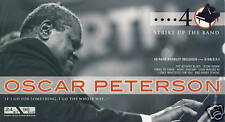 OSCAR PETERSON - STRIKE UP THE BAND 4 CD BOX (NEU/OVP)