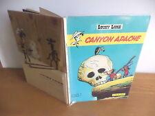 "E.O.1971 Lucky luke ""Canyon apache "" par Morris et Goscinny BE"