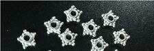 500 Pcs Tibetan Silver star spacer beads 5.5mm FC361