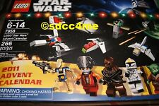 SDCC Exclusive LEGO Star Wars 2011 Advent Calendar Limited Edition Set New/NRFB