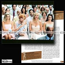 #CSP.050 Fiche TV Séries SEX AND THE CITY Sarah Jessica Parker Cynthia Nixon ...