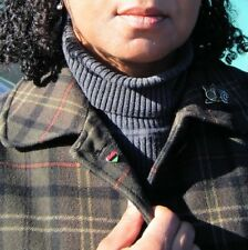 Heart Pin & Tie Tac - Pan-African African American Red Black Green