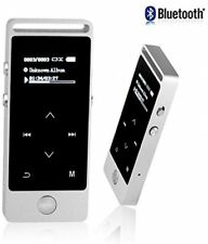 Bluetooth Mp3 Player 8Gb Touch Button Fm Radio Support Up To 64Gb microSd Card