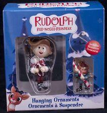 Rudolph Enesco Misfit Toys Holiday Ornament Hermey the Dentist Mini Yukon