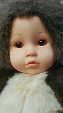 "Anne Geddes Baby Squirrel Doll Plush Stuffed Animal 15"" Girl Toy 1998 USA Seller"