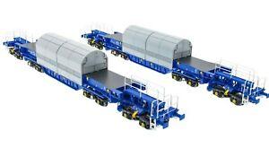 Accurascale ACC2400KUA, 00 gauge, Nuclear Flask Carrier Twin Pack