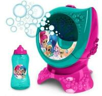 Shimmer & Shine Bubble Machine For Girls With Bubble Solution