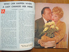 April 19, 1964 Journal NY American TV Mag(LUCILLE BALL/PEGGY McCAY/MICHAEL BURNS