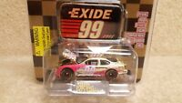 New 1998 Racing Champions 1:64 NASCAR Gold Jeff Burton Exide Ford Taurus #99