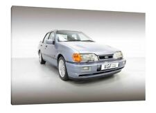Ford Sierra Saphire RS Cosworth  - 30x20 Inch Canvas Art - Framed Picture Print