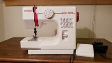 JANOME SEW MINI SEWING MACHINE WITH BOX AND ALL PARTS