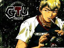 POSTER GTO GREAT TEACHER ONIZUKA EIKICHI BAD COMPANY SHONAN JUNAI GUMI MANGA #1