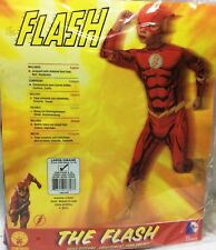 CARNEVALE HALLOWEEN MARVEL FLASH COSTUME COMPLETO ORIGINALE 12/14 ANNI
