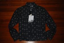 NEW, RARE $340 Men's LOVE MOSCHINO Logo 5-Button Denim Jacket (US 38, Large)