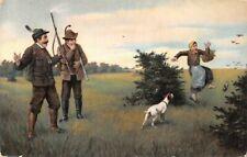carte postale la chasse