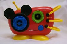 New listing Disney Mickey Mouse Imagicademy Shape Blaster Boombox Sing-a-Long Toy