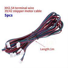 5Pcs 4Pin Female-Female XH2.54 Connector Nema16 Nema17 Stepper Motor Cable EB