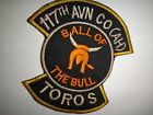 US Army 117th Aviation Company Assault Helicopter TOROS Vietnam War Patch