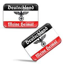 3D Aufkleber Deutschland Flagge Meine Heimat Deutsches Reich Fahne Flag Stickers