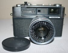 Yashica Minimatic-C 35mm Rangefinder Camera - Yashinon 1:2.8 45mm Lens & Case