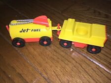 Vintage Fisher Price Little People Jet Fuel Cars