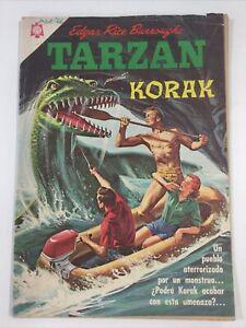 1966 SPANISH COMICS #173 TARZAN DE LOS MONOS KORAK EDITORIAL NOVARO MEXICO