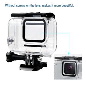 Pour GoPro Hero7 Boîtier étanche blanc / argent Boîtier de protection pour EC