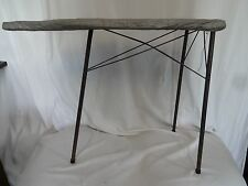 "Vintage Toy Kids Metal Folding Ironing Board Silver Cloth Cover 22"" T 8"" W 29"" L"