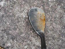 Left hand Slazenger 60 degree pro grind wedge steel shaft Golf club (restoration